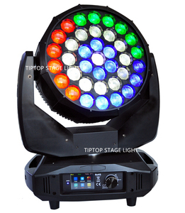 Image 3 - TIPTOP Stage Light 37x15W RGBW 4in1 K20 Big Bee Eye LED Moving Head Beam Wash 2IN1 Light B Eyes Spot Light Pixel Color Change