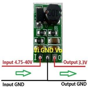 Image 5 - Dd4012sa_3v3 * 10 pces dc step down buck converter 5 40 v a 3.3 v módulo regulador de tensão para pro mini tábua de pão