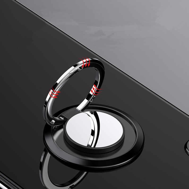 Telepon Umum Pegangan Jari Cincin Pemegang 360 Derajat untuk Samsung Xiaomi iPhone X 7 6 Smartphone Tablet Ponsel pemegang