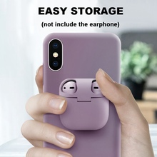 2 In 1 Earphone Storage Box For AirPods Case For