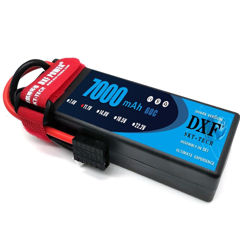 DXF 3S 11.1V 7000mAh 60C Hardcase