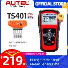 Autel MaxiTPMS TS401 TPMS инструмент Программирование MX датчик OBD2 сканер OBDII OBD 2 Автомобильный диагностический инструмент активация 315 433 МГц датчик