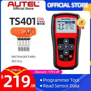 Image 1 - Autel MaxiTPMS TS401 TPMS Werkzeug Programmierung MX Sensor OBD2 Scanner OBDII OBD 2 Auto Diagnose Werkzeug Aktivieren 315 433MHZ sensor
