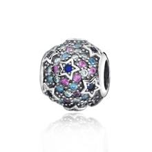 New Arrival 100% New Beads Elevated Stars Pave Charm  fit Original Pandora Bracelets Women DIY Jewelry 100% new original dta144eua t106 dta144euat dta144