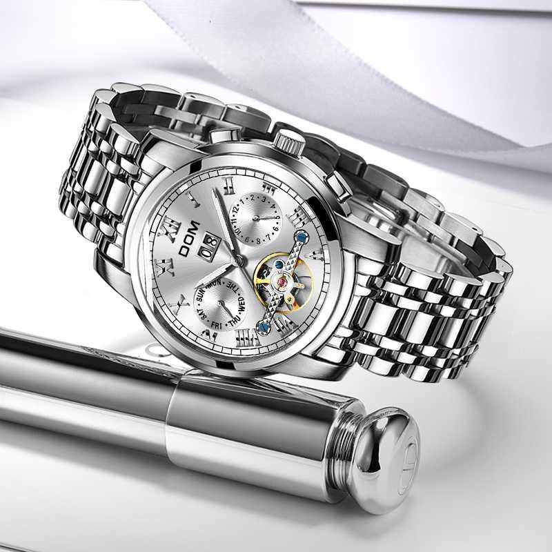 Zegarki mechaniczne Sport zegarek dom mężczyźni wodoodporny zegarek męski marka luksusowa moda zegarek Relogio Masculino rolex_watch