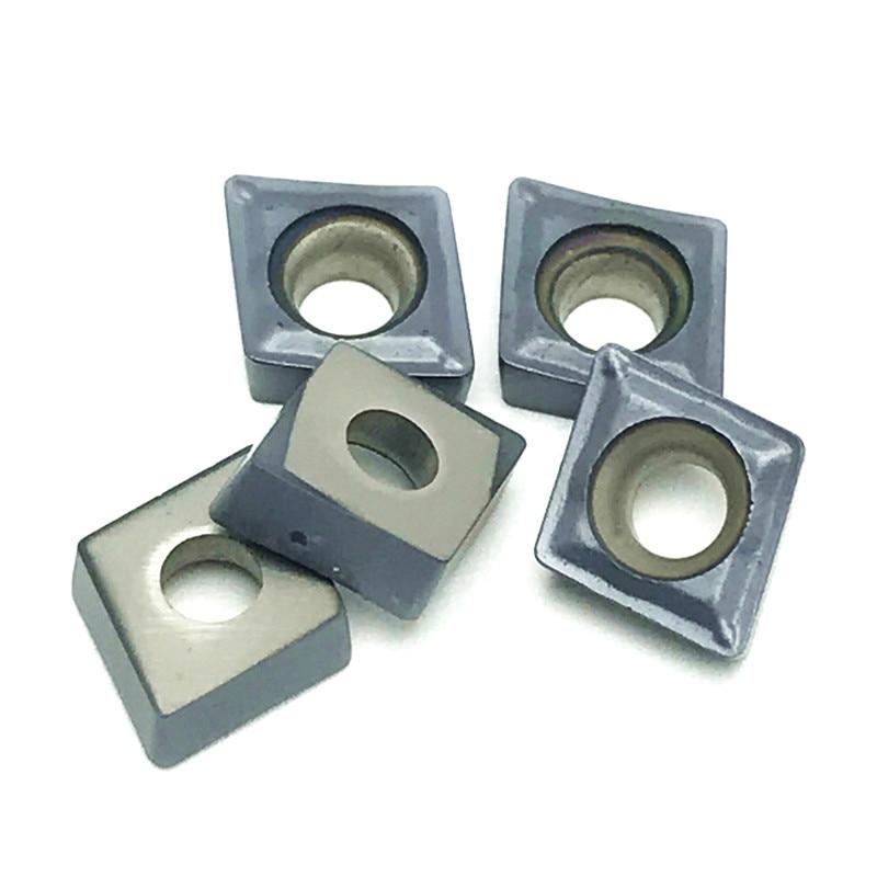 Carbide insert lathe tools CCMT060204 SM IC908 Internal Turning Tools insert metal CCMT 060204 turning insert Factory sales