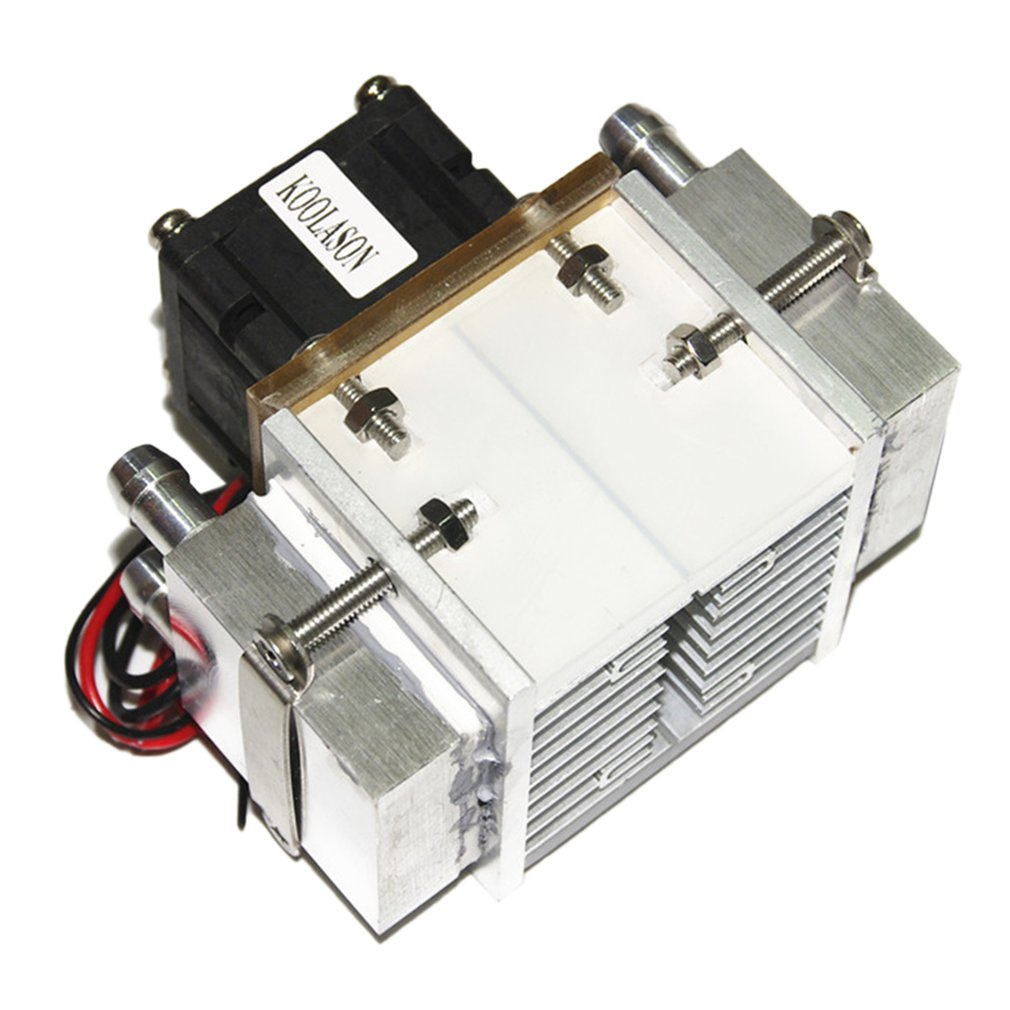 DC12V 108W Semiconductor Electronic  Peltier Refrigeration Freezer Space Small Air Conditioner Water Cooling Aluminum Radiator