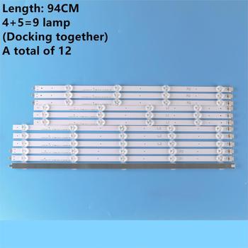 (New Original Kit) 12 PCS LED backlight strip for LG TV 47LA620S 6916L-1259A 6916L-1260A 6916L-1261A 6916L-1262A LC470DUE
