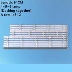 (Nowy oryginalny zestaw) 12 sztuk listwa oświetleniowa led do LG TV 47LA620S 6916L 1259A 6916L 1260A 6916L 1261A 6916L 1262A LC470DUE w Komputery przemysłowe i akcesoria od Komputer i biuro na