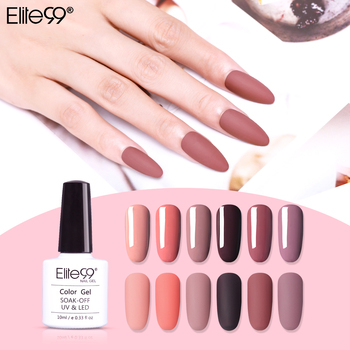 Elite99 Nagellack Nagel Gel Tränken weg vom LED UV Hybrid Nagel Primer Gel Lack Rot Rosa Nagel Make-Up 10ml UV Gel Nail art Lack