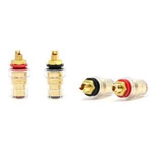 Image 5 - 2 sztuk CMC 858 S CU G wysokiej klasy jakości zacisk s, wtyczka bananowa złącze wtykowe, głośnik wzmacniacz zacisk kablowy zacisk