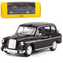 Leo завод 1:43 Ретро Yakeli коробка Лондонское такси(1958) сплав модель автомобиля коллекция подарок