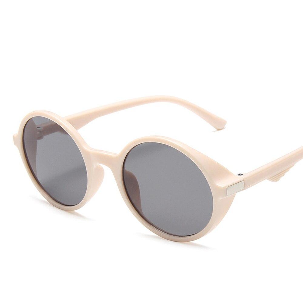 Gafas De Sol redondas Steampunk para niños y niñas, lentes De Sol infantiles con montura gruesa, con UV400, novedad De 2020