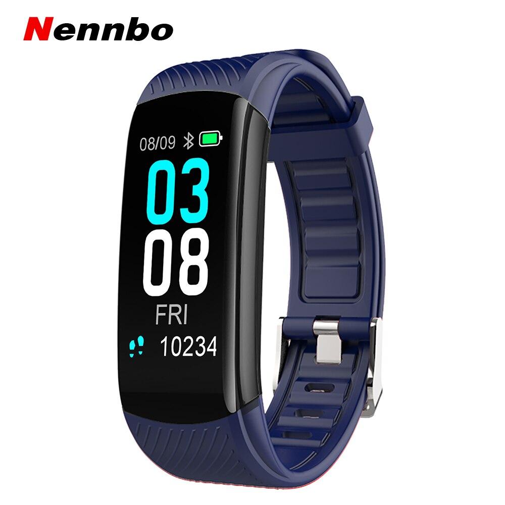 C3 Plus Smart Band Heart Rate Blood Pressure Health Bracelet Fitness Traker Pedometer Bluetooth Sport Waterproof Smartband Smart Wristbands     - title=