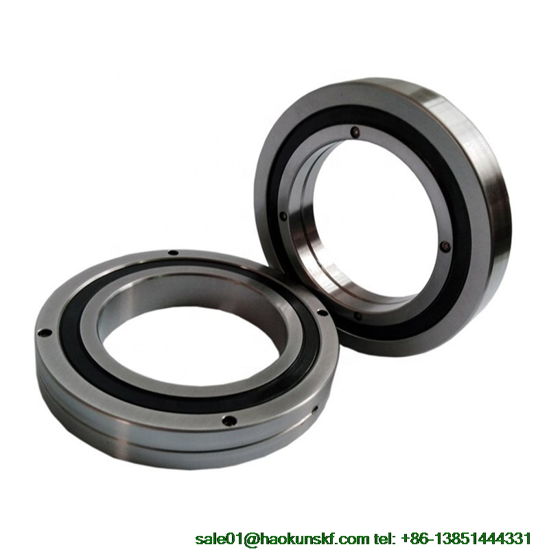 RB19025UUCC0 P5 Crossed Roller Bearings (190x240x25mm) Robotic Bearing AXK  High precision slewing bearing Made in China