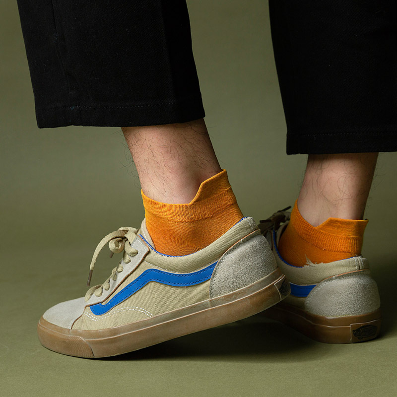 Man Socks 2020 New Spring Modal Men Short Invisible Color Casual Funny Socks Breathable Summer Men Ankle Socks High Quality