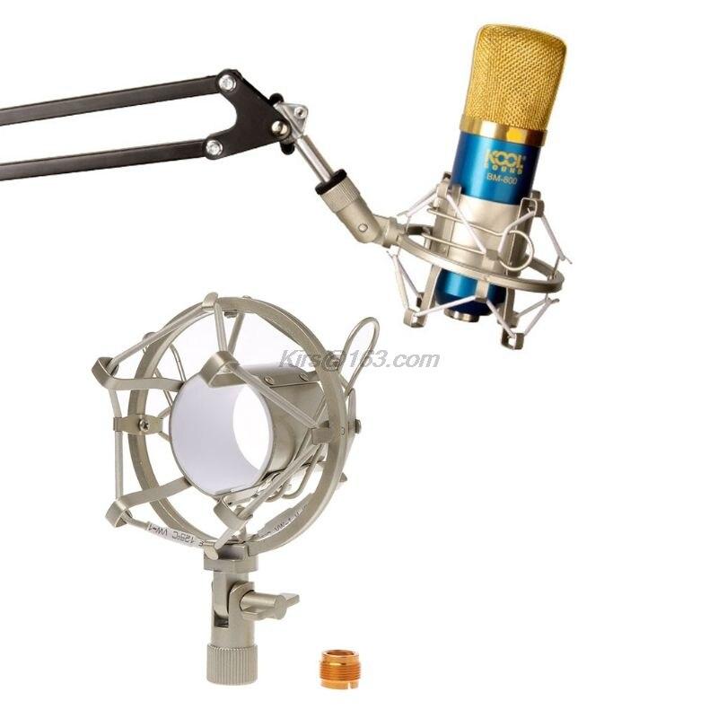 Metal Shockproof Studio Recording Microphone Shock Mount Spider Mic Holder Clip For Broadcast Computer BM 700 800 BM-800 BM-700 - ANKUX Tech Co., Ltd