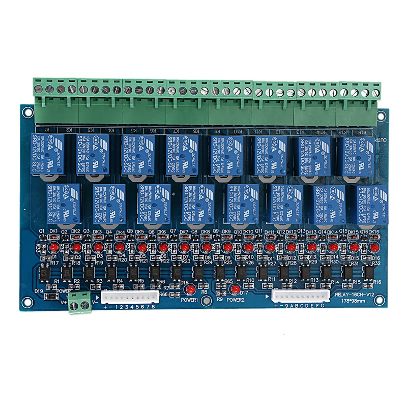 16 Channel DMX Controller Relay Switch Dimmer Kit 16 Way Relay Switch DJ Equipment