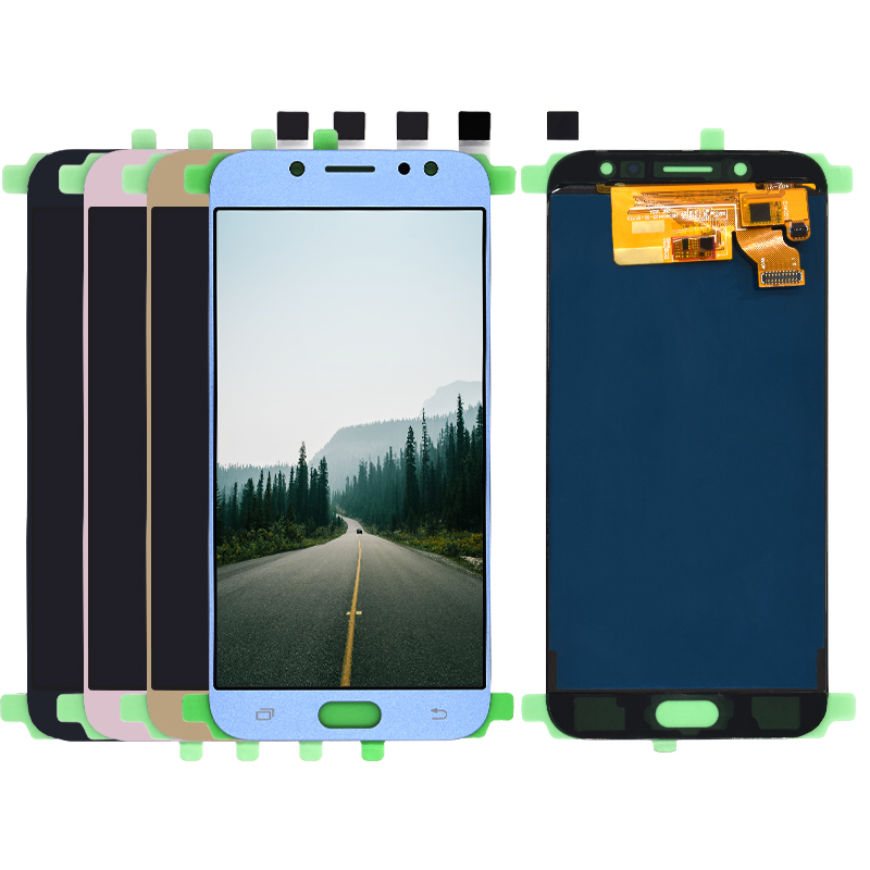 LCD For <font><b>Samsung</b></font> <font><b>Galaxy</b></font> <font><b>J7</b></font> Pro <font><b>2017</b></font> J730 SM-J730F J730FM/DS J730F/DS J730GM/DS LCD <font><b>Display</b></font> With Touch Screen Digitizer Assembly image