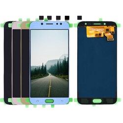 LCD do Samsung Galaxy J7 Pro 2017 J730 SM J730F J730FM/DS J730F/DS J730GM/DS wyświetlacz LCD z ekranem dotykowym Digitizer zgromadzenie Ekrany LCD do tel. komórkowych    -