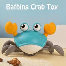 Toy Bath-Toys Crab Clockwork Classic Water Baby Kids Infant Big for Drag Summer
