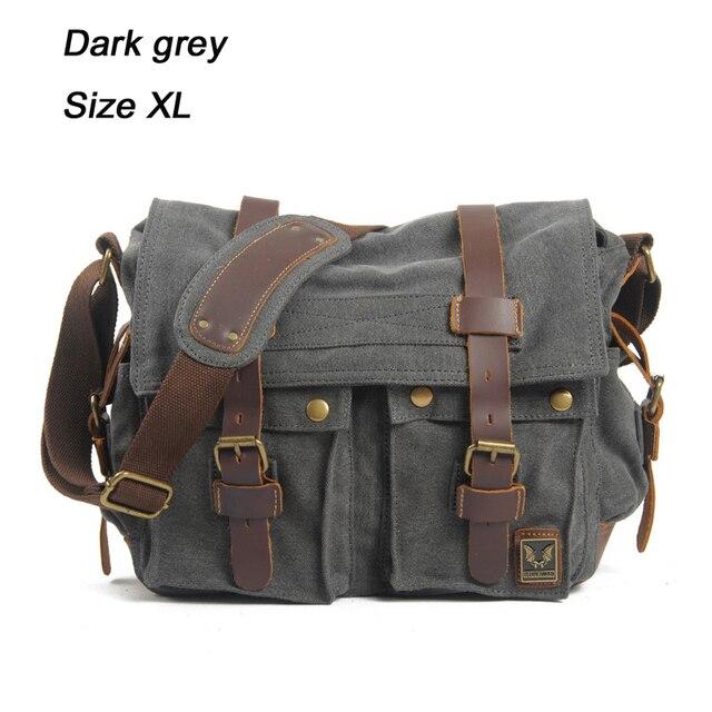 Shark Cross Body Shoulder Messenger Laptop Bag