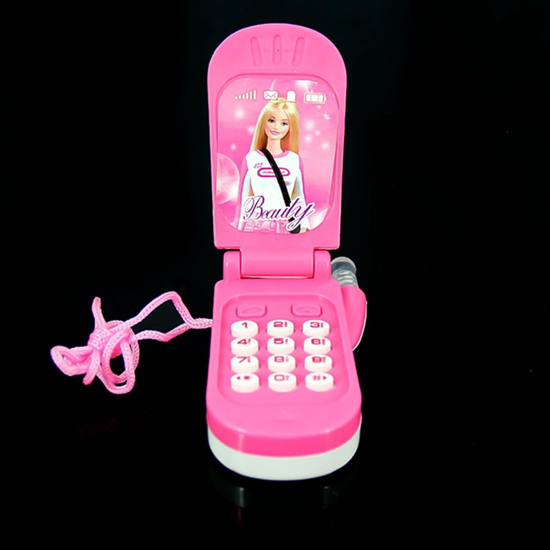 New Electronic Toy Phone Musical Mini Cute Children Toy Early Education Cartoon Mobile Phone Telephone Cellphone Baby Toys