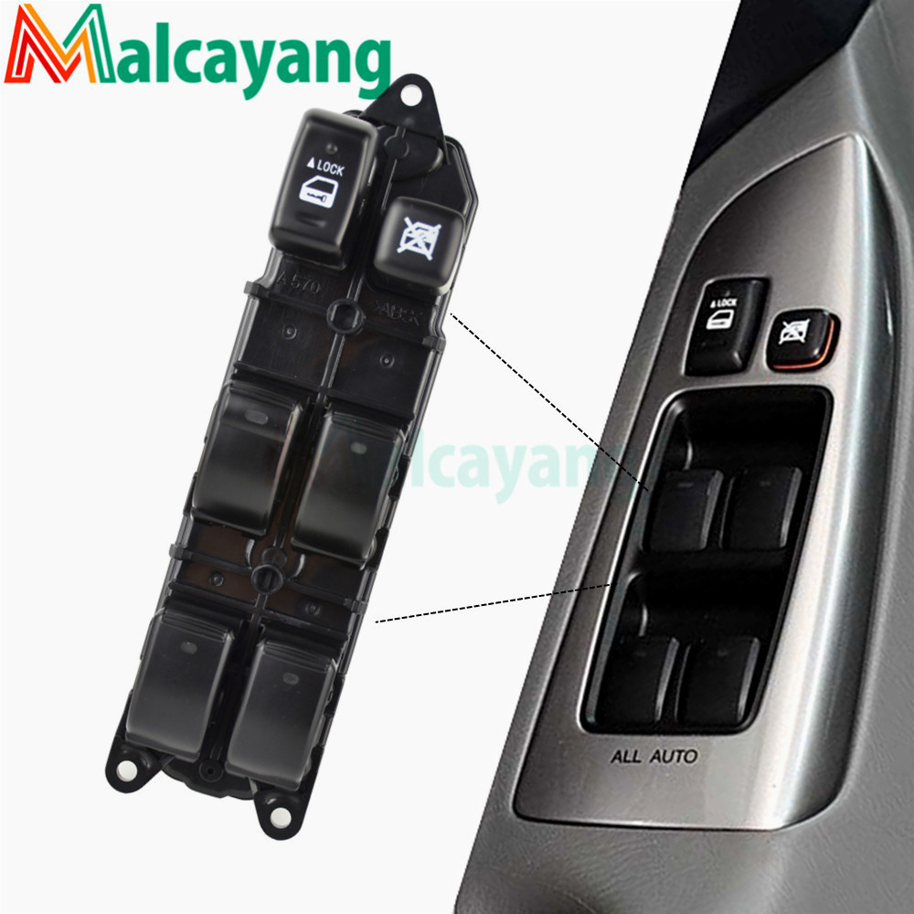Car Replacement parts Window Master Switch 84040-60052 for Toyota LAND Cruiser Prado Lexus