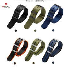 Ремешок безопасности нейлоновый для часов браслет в стиле милитари