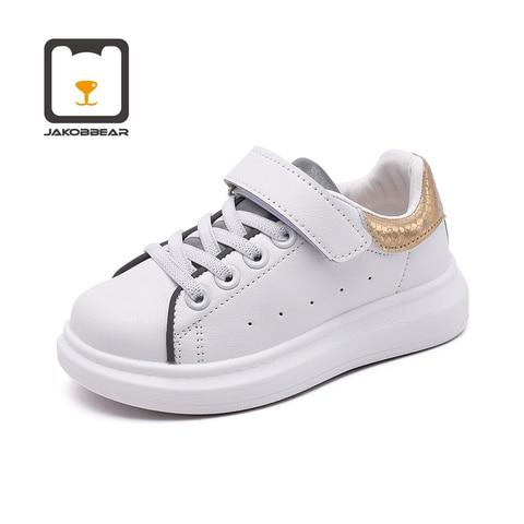 criancas sapatos de couro branco para meninas