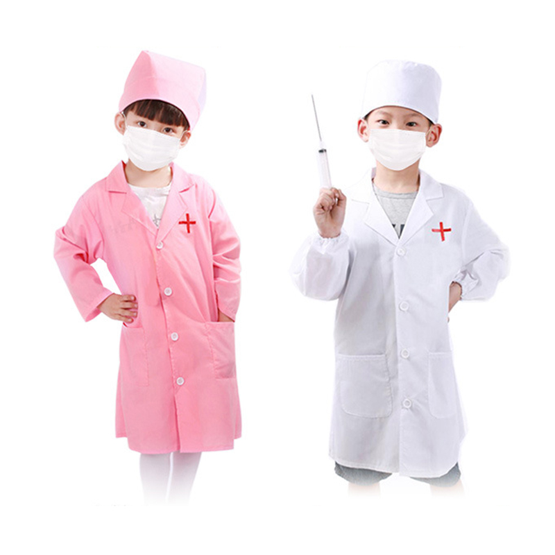 Kids Doctor Toy Doctor Simulation Nurse Clothes Family Doctor Nurse Medical Toy Pretend Play Hospital Accessorie Children Toy