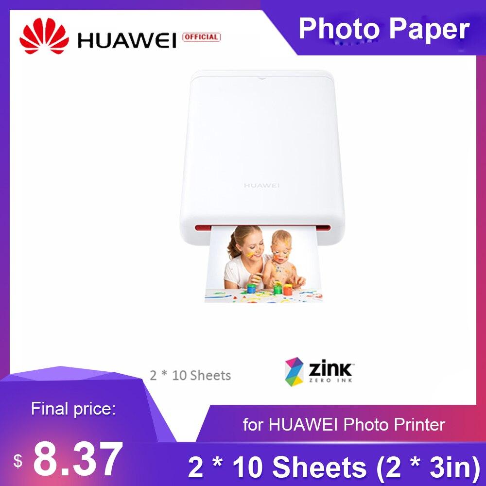 Фотобумага для Huawei 20 листов карманная паста фотобумага для фотопринтера HUAWEI CV80
