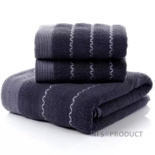 Towel-Set Washcloth Face-Hand-Towels Bathroom Travel Terry Adults 100%Cotton for Geometric-Pattern
