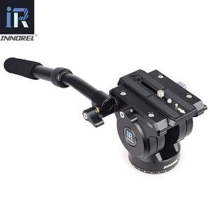 Image 2 - Innorel旗艦H90耐久性のあるデジタルカメラ一脚三脚ヘッドcnc技術負荷油圧ダンピング15キロビデオ
