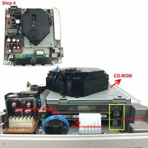 Image 5 - قرص صلب محرك ألعاب وزارة الدفاع لsega Dreamcast تيار مستمر وحدة التحكم HDD ألعاب مجانية 120 قطعة