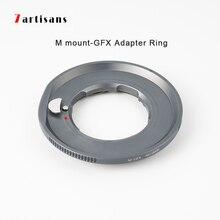 7 artigiani Anello Adattatore per LM Mount Lens per GFX Montaggio Applicabile per Fuji GFX50R GFX50S medio formato micro singolo