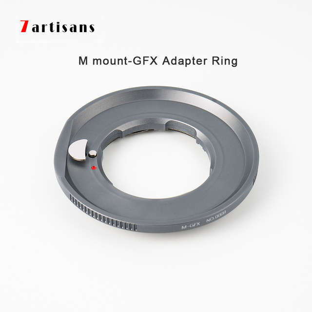 7artisans Adapter Ring for LM Mount Lens for GFX Mount Applicable to Fuji GFX50R GFX50S medium format micro single