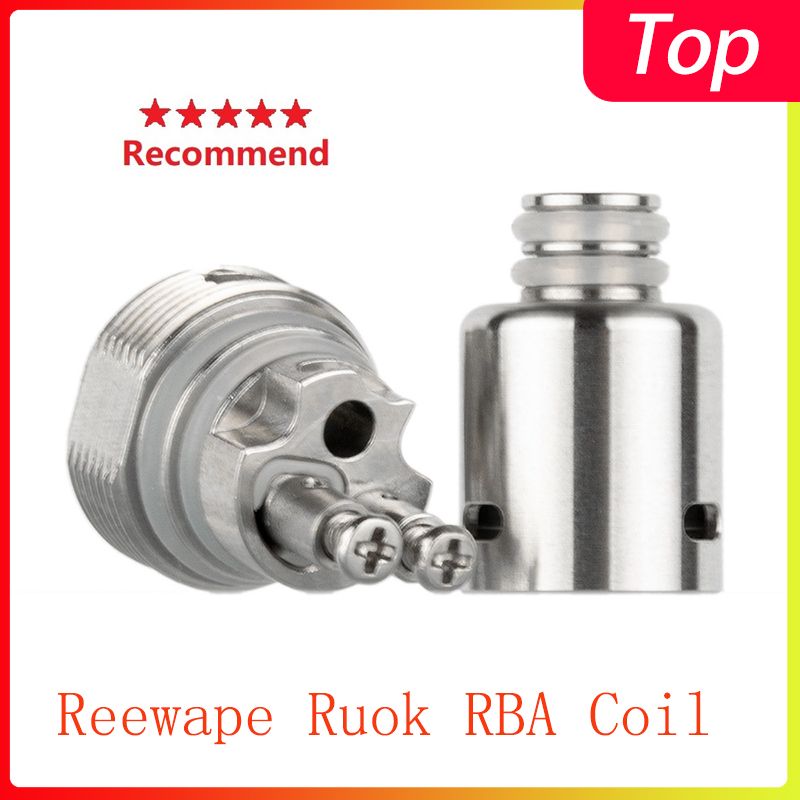 Hot Vape Coil Reewape Ruok RBA Coil Head  For Fetch Mini/Nikola Antares/Hotcig Marvel/Oukitel Mate/Oukitel Bison/Dovpo Peaks