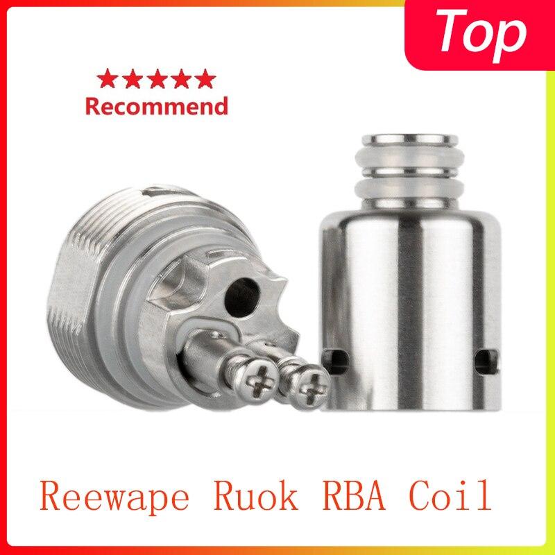 Hot Vape Coil Reewape Ruok RBA Coil Head  For Fetch Mini/Nikola Antares/Hotcig Marvel/Oukitel Mate/Oukitel Bison/Dovpo Peaks