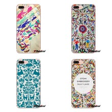 For HTC U11 One M7 M8 A9 M9 M10 E9 Desire 630 530 626 628 816 820 Motorola G G2 G3 Soft Transparent Shell Covers Otomi Designs(China)