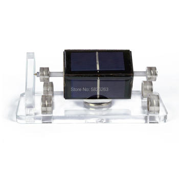 Light Engine Maglev Mendocino Motor Brushless Solar Toy, Science Physics Toy