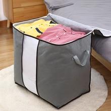 2020 домашнего хранения складной сумка водонепроницаемый Оксфорд ткань постельное белье подушки одеяло одежда для хранения организатор сумка Оптовая