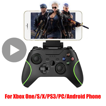 Controller for Xbox One S X PS3 TV Box Phone Android PC Gamepad Bluetooth Control Game Pad Cellphone Trigger Mobile VR Joystick джойстик vr box bluetooth gamepad 2 0