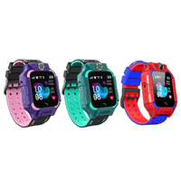 Z6 חכם LED דיגיטלי שעון מגע מסך שעוני יד לילדים ילדים חכם שעון IP67 ה-SIM כרטיס GPS Tracker המצלמה SOS שיחה