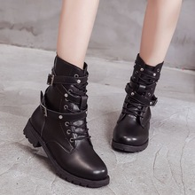 Black Women Boots For Martin Boots Women Shoes Genuine Leather Female Winter Boots Winter Shoes Women Booties Women Ankle Boot болторез fit 600 мм