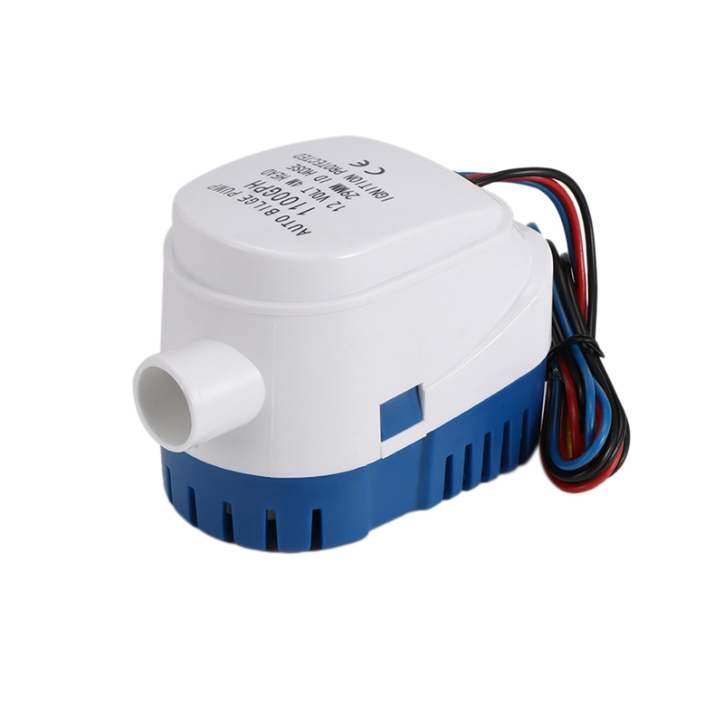 12V Automatic Water Bilge Pump 750Gph For Boat Submersible Auto Pump With Float Switch Marine / Bait Tank / Fish