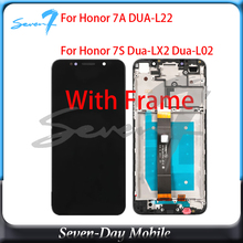For Huawei Honor 7A DUA-L22 LCD Display Touch Screen Digitizer LCD Screen With Frame For Huawei Honor 7S DUA L02 L22 LX2 quying laptop lcd screen compatible model lp121wx3 tla1 tla2 ltn121at06 g01 l02 h01 b121ew09 v 2 v 3 n121ib l06