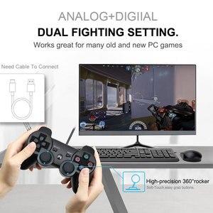 Image 2 - 무선 블루투스 원격 게임 조이패드 컨트롤러 PS3 Controle 게임 콘솔 조이스틱 PS3 콘솔 게임 패드 PC 용