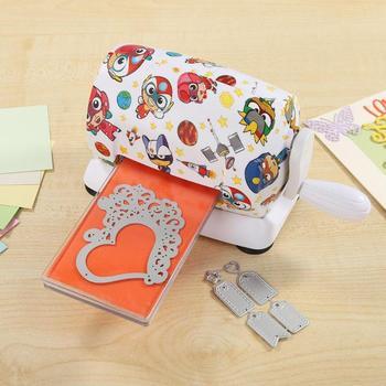 Die-Cut Machines Dies Cutting Embossing Machine DIY Plastic Scrapbooking Paper Cutter Card Tool Card Cutter Die Cutting Machine