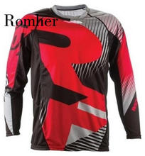 Romher 2020 Off Road ATV Racing T-Shirt AM RF Bicycle Cycling Bike Downhill Jersey Motorcycle Jersey Motocross MTB DH MX Ropa D